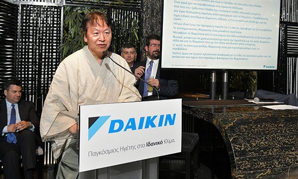 Daikin: παρουσίαση έρευνας πελατών κατά τη διάρκεια εκδήλωσης